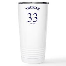 Harry S Truman Travel Mug