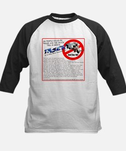 Say no tasers it's the new ex Kids Baseball Jersey