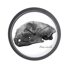 Cute Mountain lion Wall Clock