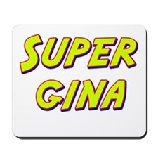 Super gina Mousepad