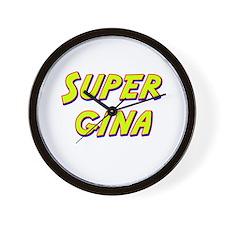 Super gina Wall Clock