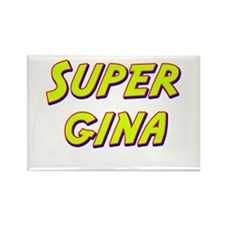 Super gina Rectangle Magnet