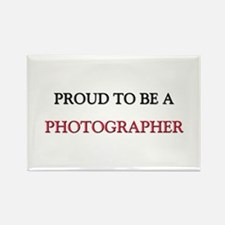 Proud to be a Photographer Rectangle Magnet