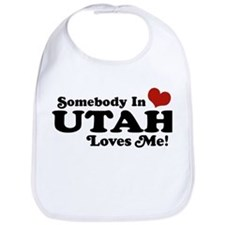 Somebody In Utah Loves Me Bib
