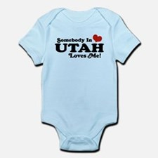Somebody In Utah Loves Me Infant Bodysuit