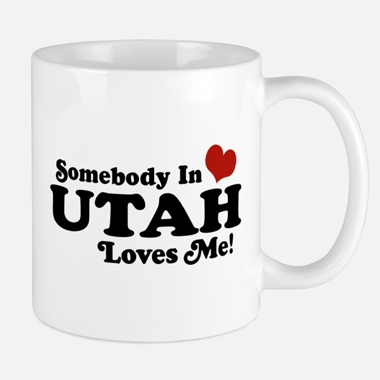 Somebody In Utah Loves Me Mug