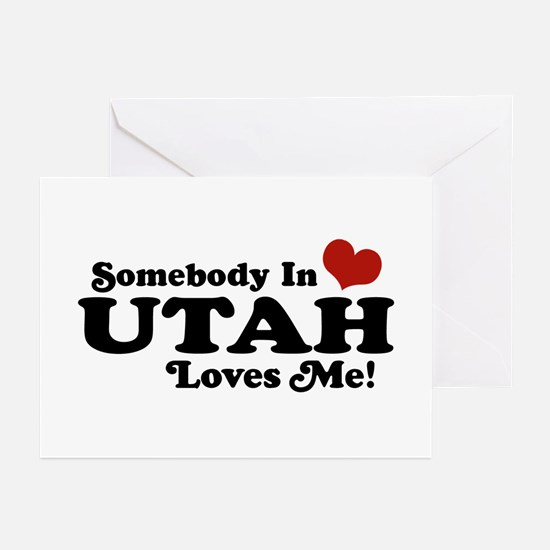 Somebody In Utah Loves Me Greeting Cards (Pk of 10