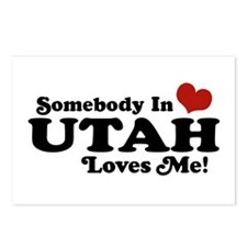 Somebody In Utah Loves Me Postcards (Package of 8)