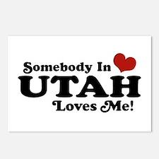Somebody In Utah Loves Me Postcards (Package of 8)