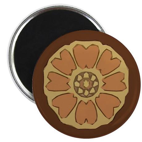 White Lotus Magnet