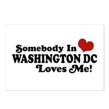 Somebody In Washington DC Postcards (Package of 8)