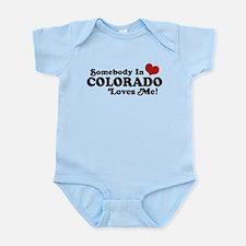 Somebody In Colorado Loves Me Infant Bodysuit