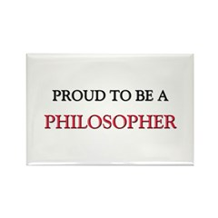 Proud to be a Philosopher Rectangle Magnet (10 pac