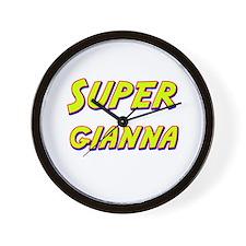 Super gianna Wall Clock