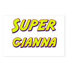 Super gianna Postcards (Package of 8)