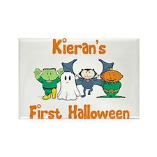 Kieran's First Halloween Rectangle Magnet