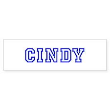 Cindy Bumper Bumper Sticker