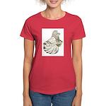 English Trumpeter Brown Splas Women's Dark T-Shirt