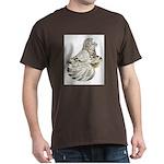 English Trumpeter Brown Splas Dark T-Shirt