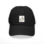 English Trumpeter Brown Splas Black Cap