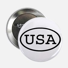 "USA Oval 2.25"" Button"