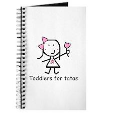 Pink Ribbon - Toddlers Journal