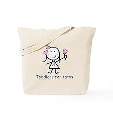 Pink Ribbon - Toddlers Tote Bag
