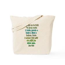 John 14:6 Czech Tote Bag
