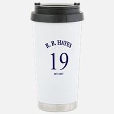 Rutherford B Hayes Stainless Steel Travel Mug