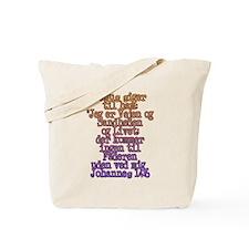 John 14:6 Danish Tote Bag
