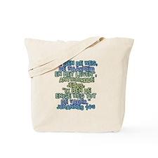 John 14:6 Dutch Tote Bag