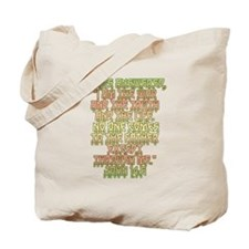 John 14:6 English Tote Bag