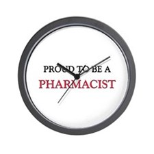 Proud to be a Pharmacist Wall Clock