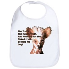 Chinese Crested Naked Truth Bib