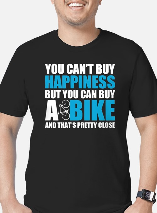 Cute Biking womens Men's Fitted T-Shirt (dark)