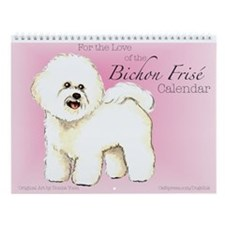 Bichon Frise Wall Calendar