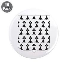 bretagne 3.5 Button (10 pack)