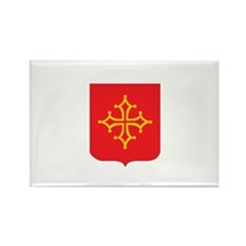 languedoc Rectangle Magnet