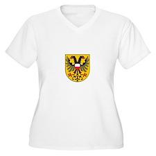 luebeck city Womes Plus-Size V-Neck T-Shirt