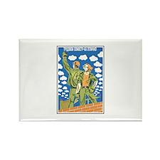 soviet124 Rectangle Magnet (100 pack)