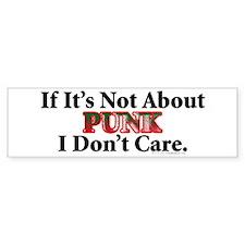 Punk Bumper Bumper Sticker