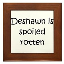 Cool Deshawn Framed Tile