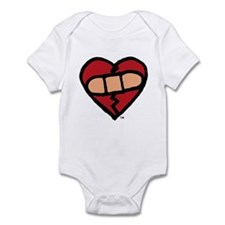 """Mended Heart"" Infant Creeper"