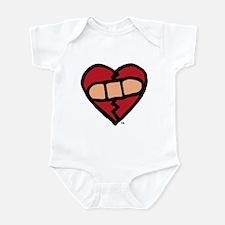 """""""Mended Heart"""" Infant Creeper"""