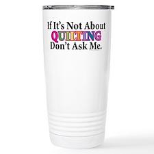 Quilting Thermos Mug