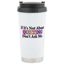Quilting Travel Mug