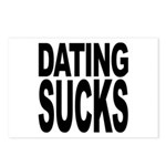 Dating Sucks Postcards (Package of 8)