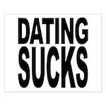 Dating Sucks Small Poster