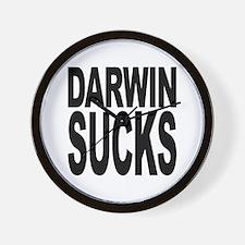 Darwin Sucks Wall Clock