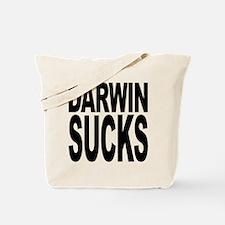 Darwin Sucks Tote Bag